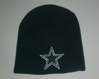 Dallas Cowboys Winter Short Beanie Skull Cap Hat Black DAL New Great Look! d1144856b