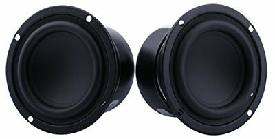 "Yeeco Pack of Two 3"" inch 8 Ohm 25W Mini Car Audio Speakers Subwoofer Woofer Sub"