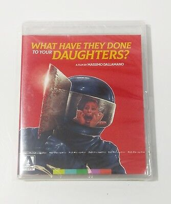 What Have They Done to Your Daughters? (Blu-ray) ARROW VIDEO - NEW SEALED