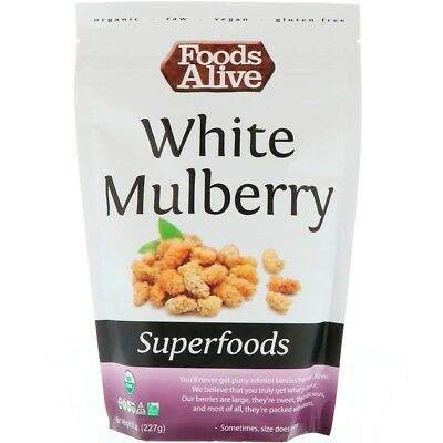 Foods Alive Superfoods White Mulberry 8 oz (227 g)