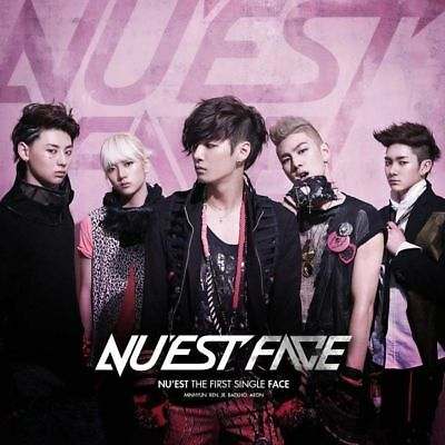 NU'EST [FACE] THE FIRST SINGLE Album CD+Photobook+Photocard K-POP SEALED