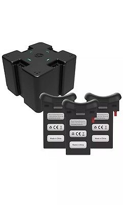 Holy Stone 3* 3.7V 1000mAh Recharge Li-ion Battery 4in1 Charging Hub for HS110D