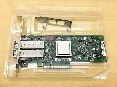 QLE2562-E-SP QLOGICA SANBLADE 8GB DUAL PORT FIBRE PCI-E W//BOTH BRACKET