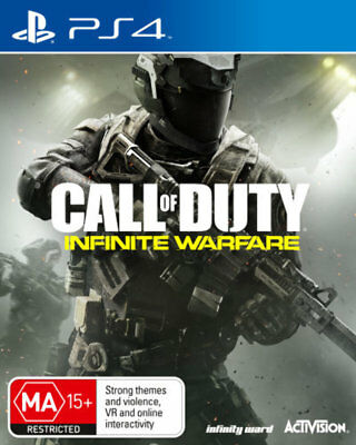 CALL OF DUTY INFINITE WARFARE Sony Playstation 4 PS4 Game