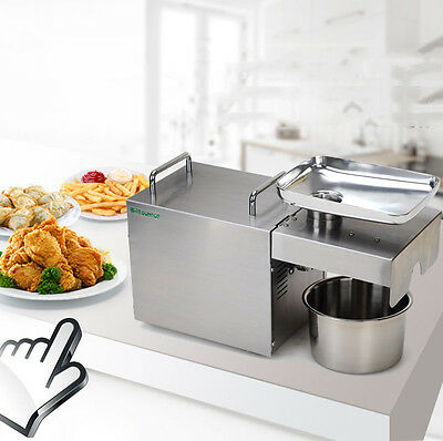 1500W 220V Commercial electric Stainless steel automatic Oil Pressing Machine