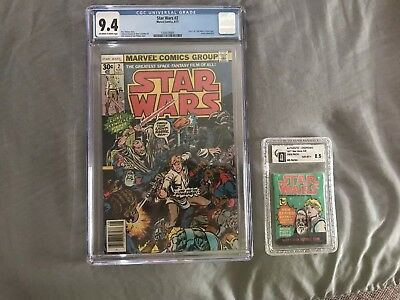 Star Wars Graded Comic #2 1977 9.4