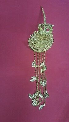Thai Vintage Northern Hairpin Gold Plated Wedding Costume Women Accessories Gift