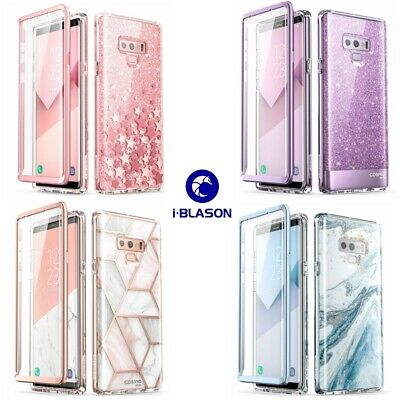 For Samsung Galaxy Note 9, i-Blason Cosmo Bling Glitter Case w/ Screen Protector