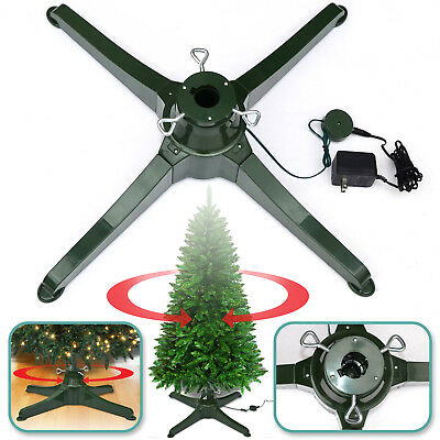 Rotating Tree Stand for 7.5ft Artificial Christmas Tree Revolving Tree Base  Only - E Z ROTATING Christmas Tree Stand Revolving 360 Tree Stand Display