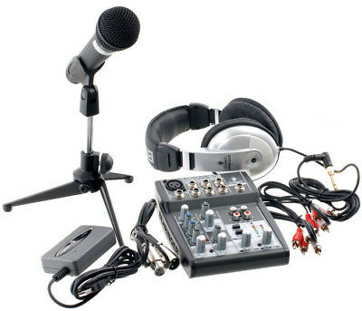 Behringer Podcastudio Usb - Sistema Completo Per Podcast
