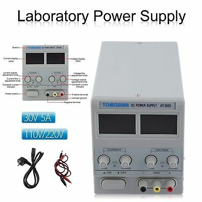 Contrôle Direct Alimentation de Laboratoir 30V 5A Transformateur Variable DC