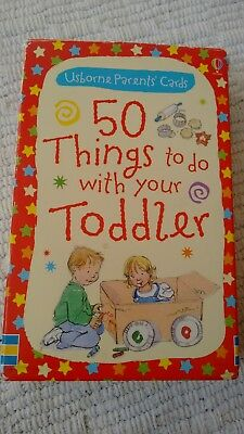 50 Things To Do With Your Toddler Cards