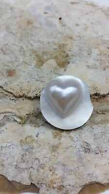 Loose Mabe Heart Pearl Authentic Backing Saltwater B Grade Wholesale Bulk #24