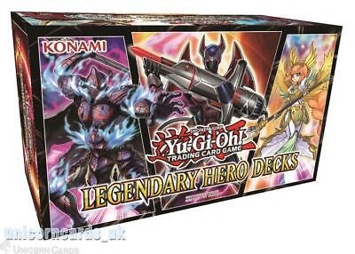 YuGiOh! Legendary Hero Decks :: 3 Unique 50-Cards Decks :: Pre-Order!