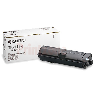 Kyocera TK-1154 Genuine Black [3K] Toner Kit