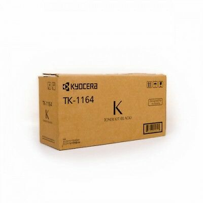 Kyocera TK-1164 Genuine Black [7.2K] Toner Kit
