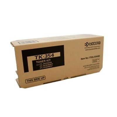 Kyocera TK-354B Genuine Black [15K] Toner Kit