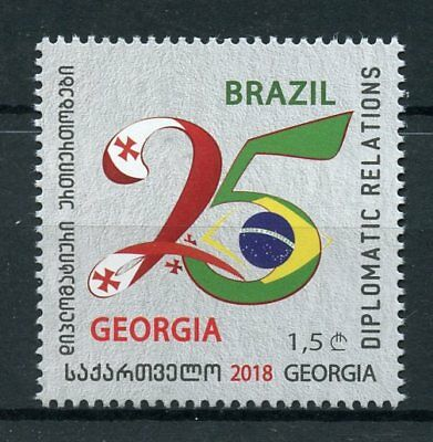 Georgia 2018 MNH Diplomatic Relations Brazil 25 Years 1v Set Stamps