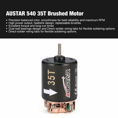 AUSTAR 540 35T Brushed Motor for 1/10 Off-road Truck Bigfoot RC Car ModelSQ