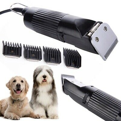 Electric Pet Dog Cat Animal Clipper Grooming Trimmer Hair Cutter Shaver Kit Tool
