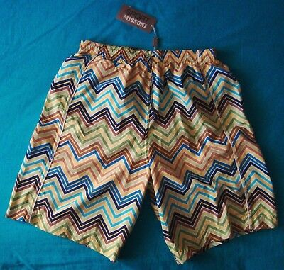 SHORT sea man vintage MISSONI SPORT made in Italy TG 52-XL NEW! RARE
