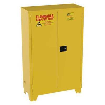 Flammable Safety Cabinet,45 Gal.,Yellow JAMCO FS45YP