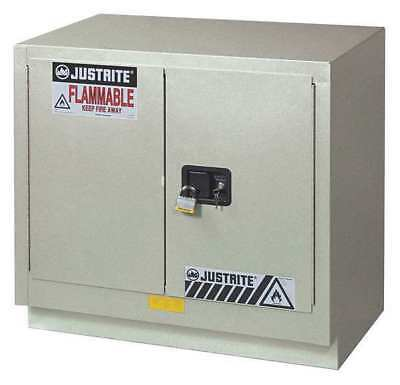 Corrosive Safety Cabinet,Silver,23 gal. JUSTRITE 8837042