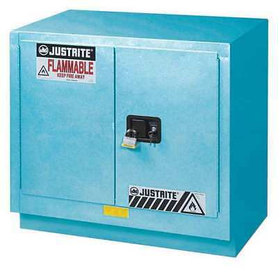 Corrosive Safety Cabinet,Blue,23 gal. JUSTRITE 8837022