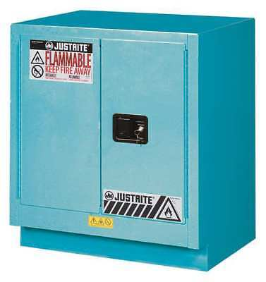 Corrosive Safety Cabinet,Blue,19 gal. JUSTRITE 8831022
