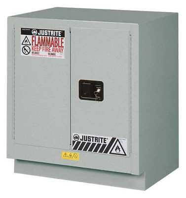 Corrosive Safety Cabinet,Silver,19 gal. JUSTRITE 8831042