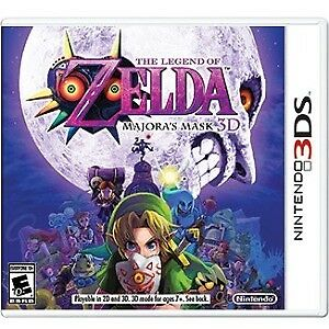 Nintendo The Legend of Zelda: Majora's Mask 3D