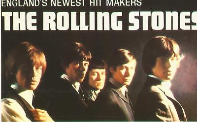 AK, Postkarten - The Rolling Stones - England`s Newest Hit Makers - ungelaufen