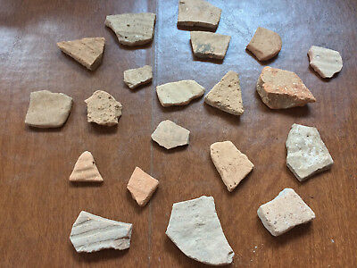 Ancient pottery shards pieces Holy land Israel archeology biblical times #3