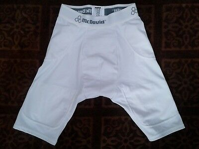 McDavid Youth Large Football Compression  Shorts,  5 Pocket, With Cup