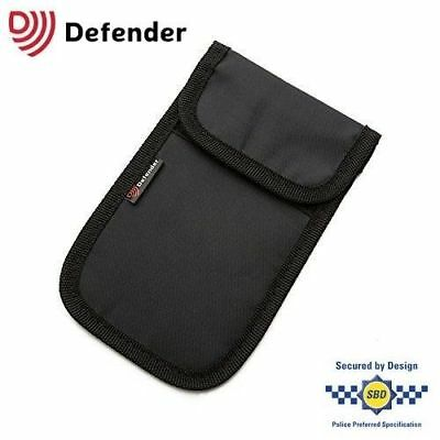 Genuine Defender Signal Blocker Car key Fob Signal Jamming pouch UK Stock BLACK
