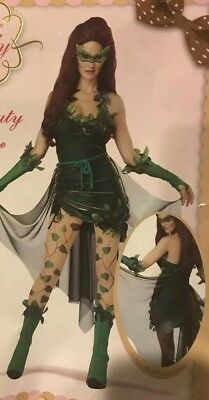 Lethal Beauty Deluxe Costume Eye Candy Size Small 6-8