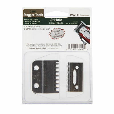 WAHL Crunch Stagger-Tooth Blade Set WA2161-400 for Cordless Magic/SAME DAY POST