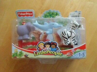 <> Neu / Ovp  <><> Fisher~ Price <><> Little People <> Zoo  Tiere <> Neu <>