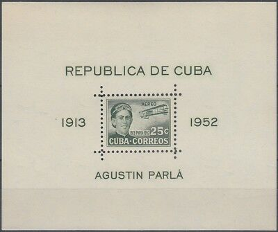 1952-330 SPAIN COLONIES. 1952 SHEET 25c AGUSTIN PARLA Ed.501A UNUSED NO GUM.