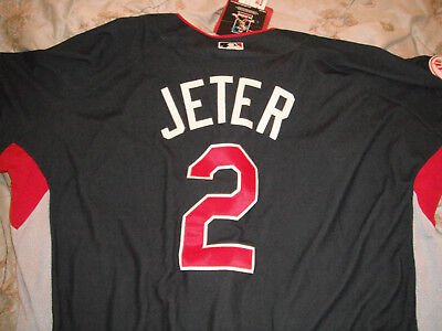 2bd39a60ddd YANKEES 2009 ALL-STAR GAME DEREK JETER JERSEY New With Tags 2XL MAJESTIC  NICE!