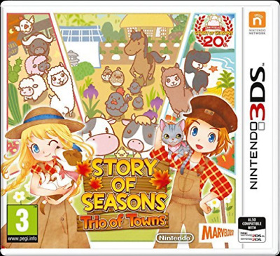 NINTENDO-3DS Story of Seasons 2: Trio of Towns GAME NEW