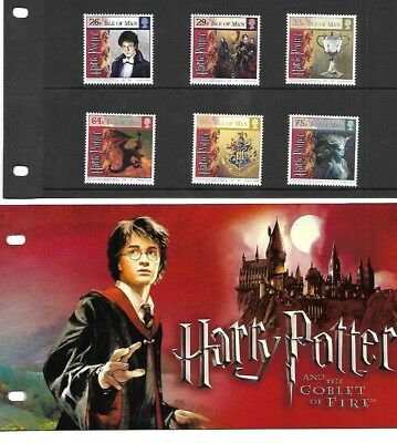 Isle of Man - Harry Potter & the Goblet of Fire Presentation Pack - 2005