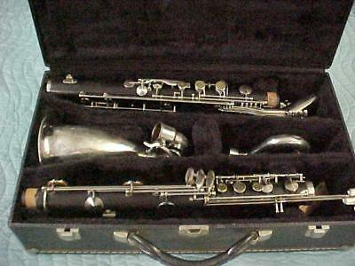 Vintage Vito/Noblet Bass Clarinet, Cleaned Repadded Excellent