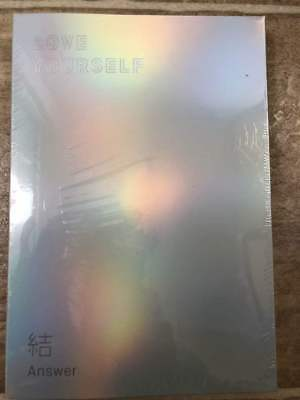 BTS Love yourself 結 Answer 4thAlbum CD+Poster+Book+Card+sticker VERSION S. & F.
