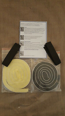 Self Adhesive Replacement Sponge Kit For Brother Knitting Machine Retainer Bars