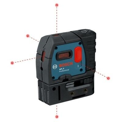Bosch GPL-5R 5-Point Self-Leveling Alignment Laser NEW