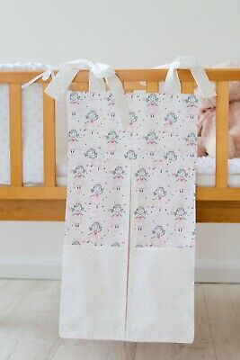 Pink Princess Nappy Stacker/Toy Storage For A Girl. Ideal Baby Shower Gift.
