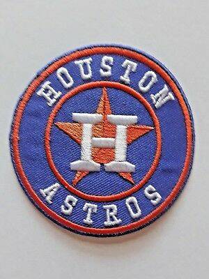 Houston Astros MLB Patch Minute Maid Park Iron On Sew Shirt Jacket Hoodie Bag