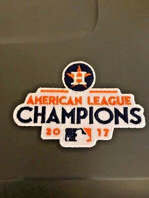 Houston Astros AL Champs MLB Patch Minute Maid Park Iron On Sew Jacket Hoodie