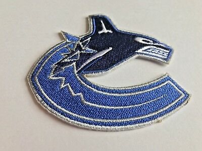 Vancouver Canucks NHL Jersey Patch Rogers Arena Iron On Sew Hat Hoodie Jackets